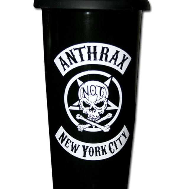 Anthrax Porcelain Travel Mug