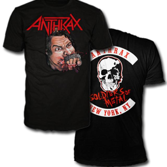 Anthrax FISTFUL OF METAL TSHIRT