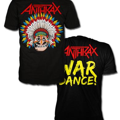 Anthrax WARDANCE NOTMAN T-SHIRT