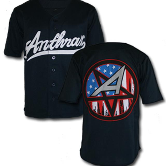 Anthrax BASEBALL JERSEY