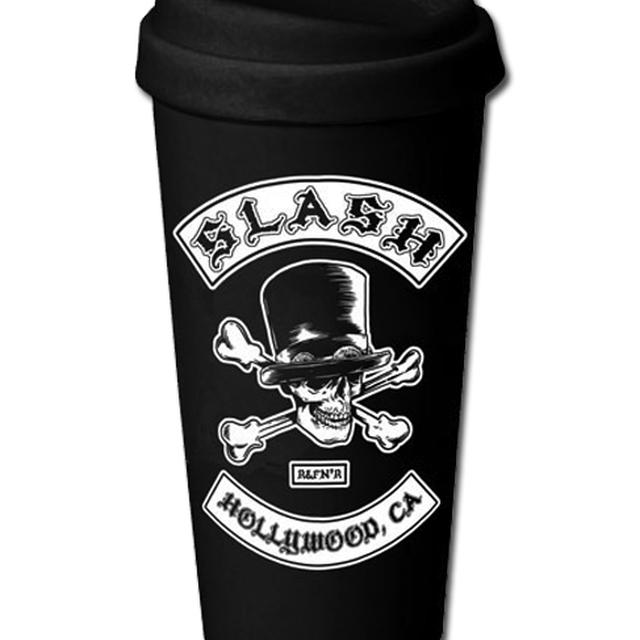 Slash BIKER PATCH CERAMIC TRAVEL MUG