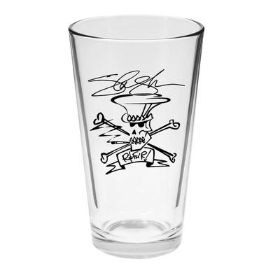 SLASH SIGNATURE PRINTED PINT GLASS