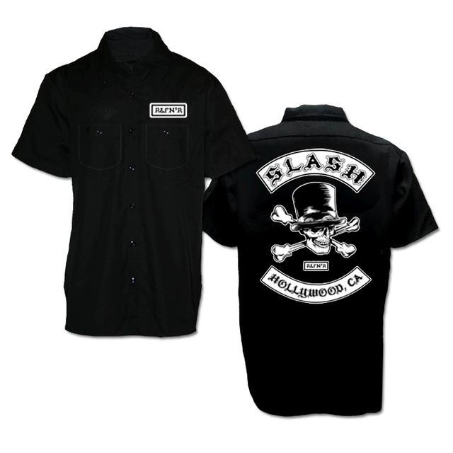 Slash Biker Patch Workshirt