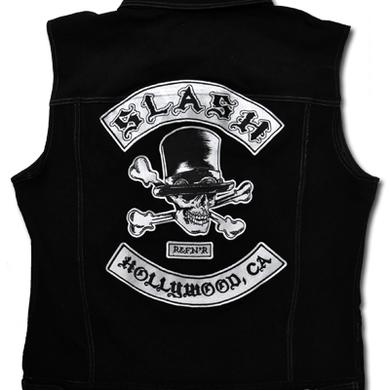 SLASH DENIM VEST