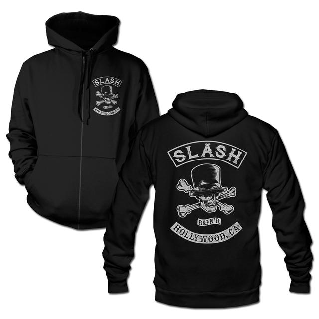 Slash BIKER PATCH REDUX ZIP HOODIE