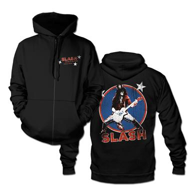 Slash Deteriorated Zip Hoodie