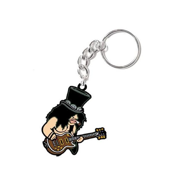 Slash Caricature Keychain