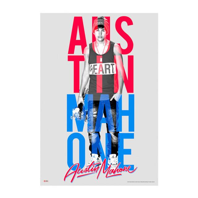 Austin Mahone TOWER POSTER