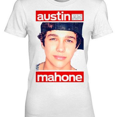 Austin Mahone RED BARS GIRLS TEE