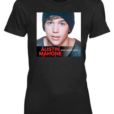 Austin Mahone WHAT ABOUT LOVE GIRLS BLACK TEE