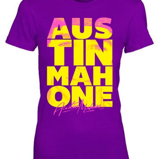 Austin Mahone LETTER STACK TEE