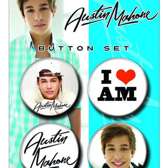 Austin Mahone I  AM BUTTON SET