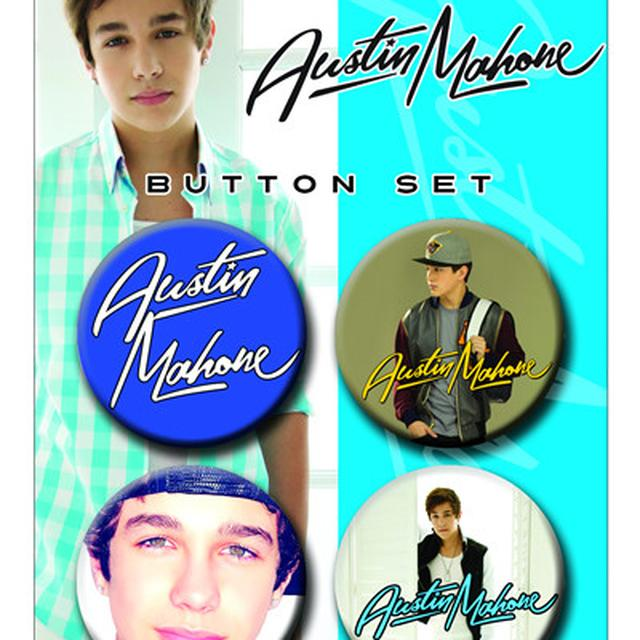 Austin Mahone AUSTIN PHOTO BUTTON SET
