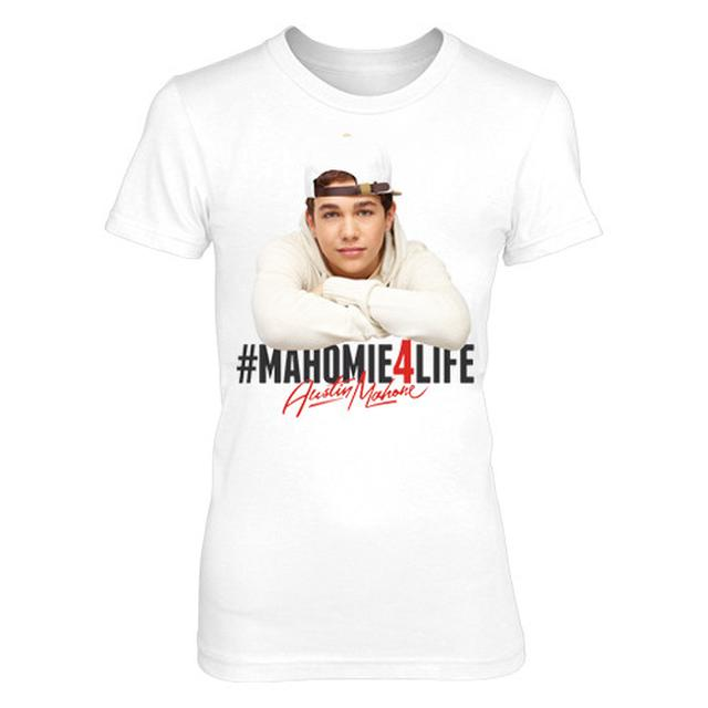 Austin Mahone MAHOMIE FOR LIFE TEE