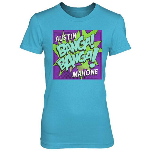 Austin Mahone BANGA BANGA TEE ON TURQUOISE
