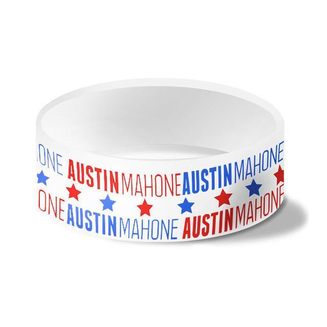 Austin Mahone AMERICANA SILICON WRISTBAND