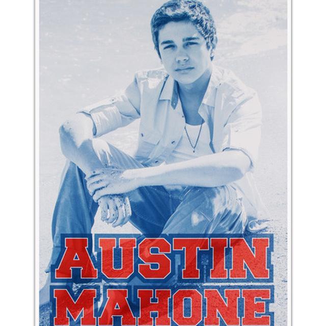 Austin Mahone BEACH POSTER