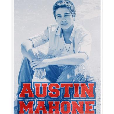 Austin Mahone BEACH POSTER