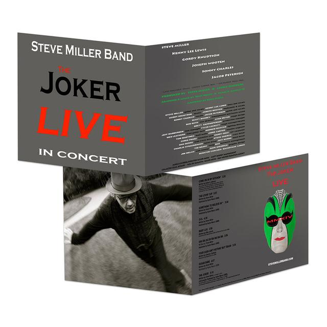 Steve Miller Band The Joker Live In Concert CD