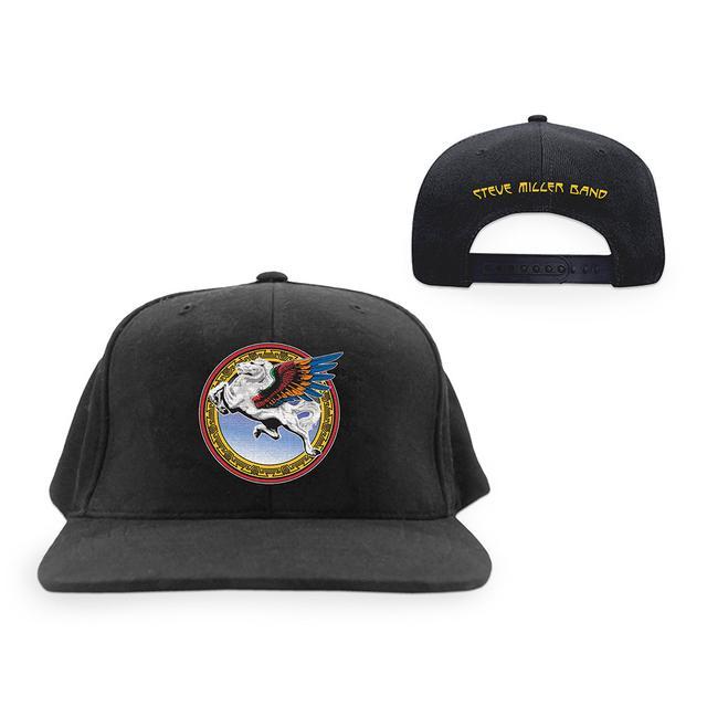 Steve Miller Band Pegasus Black Cap