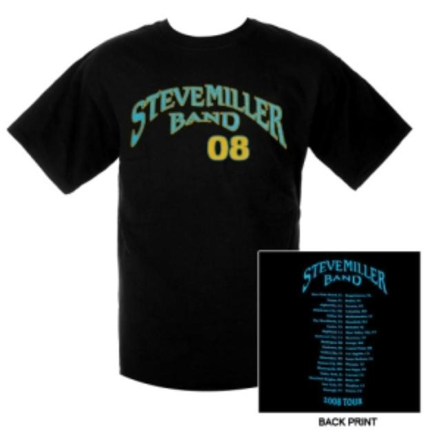 Steve Miller Band Baseball Event Tee