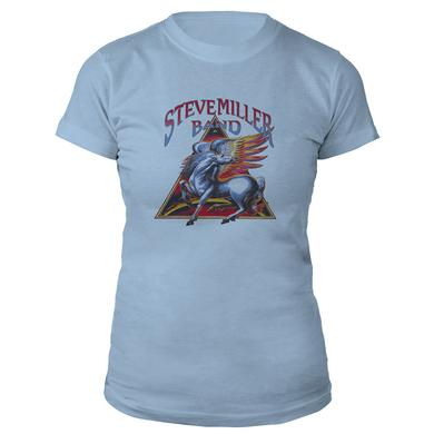 Steve Miller Band Pegasus Triangle Ladies Tee