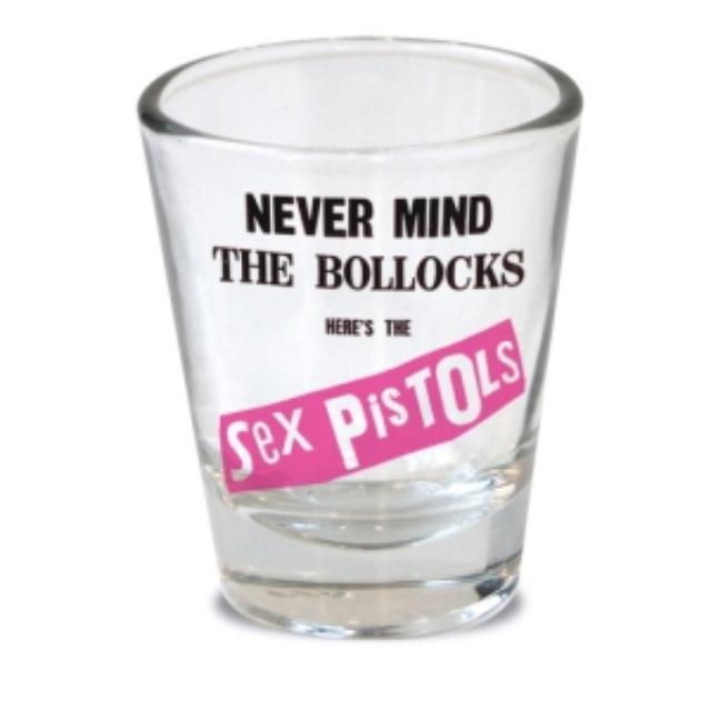 Sex Pistols Bollocks Shot Glass