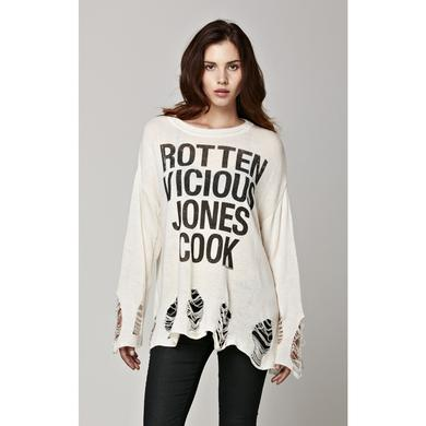Sex Pistols Shredded Sweater