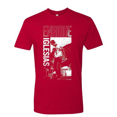 Enrique Iglesias Heart Photo Tee - Red