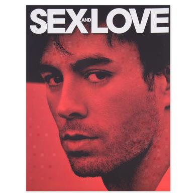 Enrique Iglesias Enrique Sex+Love Tour Program