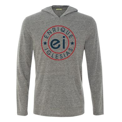 Enrique Iglesias Mens Lightweight Pullover Hoody