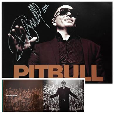 PITBULL AUTOGRAPHED Limited Edition Tour Book