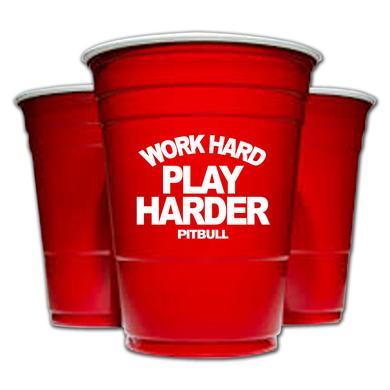PITBULL Work Hard Play Harder Cup
