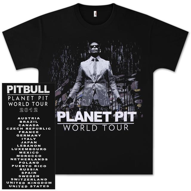 PITBULL World Tour Tee