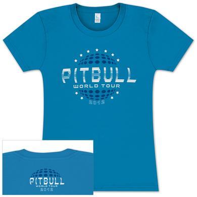 Pitbull 2012 World Tour Ladies Tee