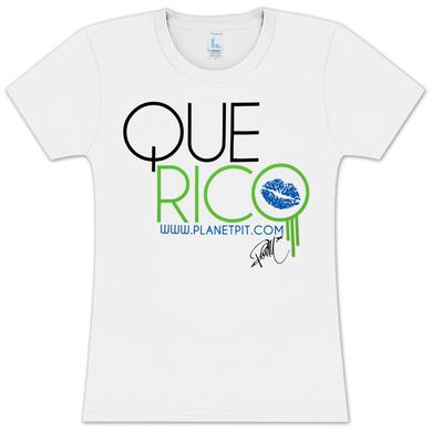 Pitbull Que Rico Ladies shirt