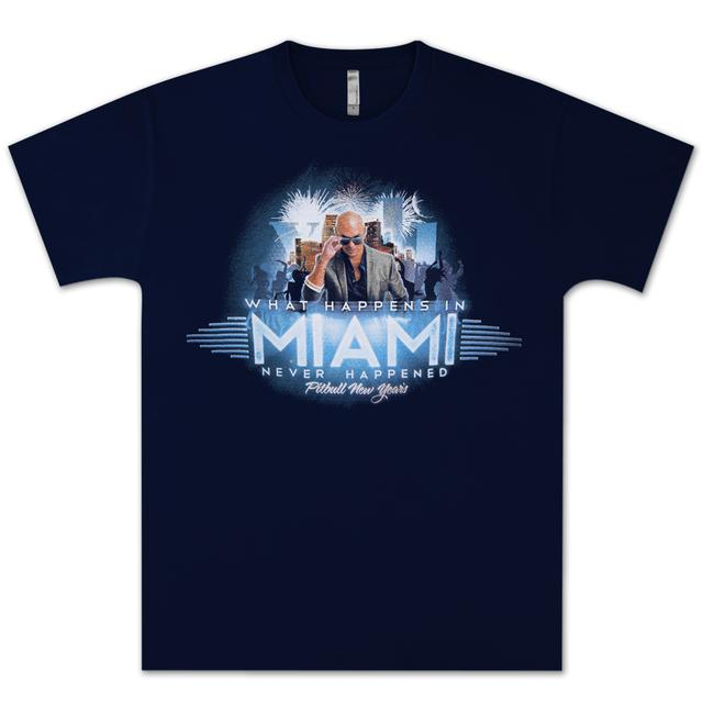 PITBULL Men's Miami New Years Tee