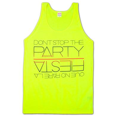 Pitbull Tank Top | Que No Pare La Fiesta