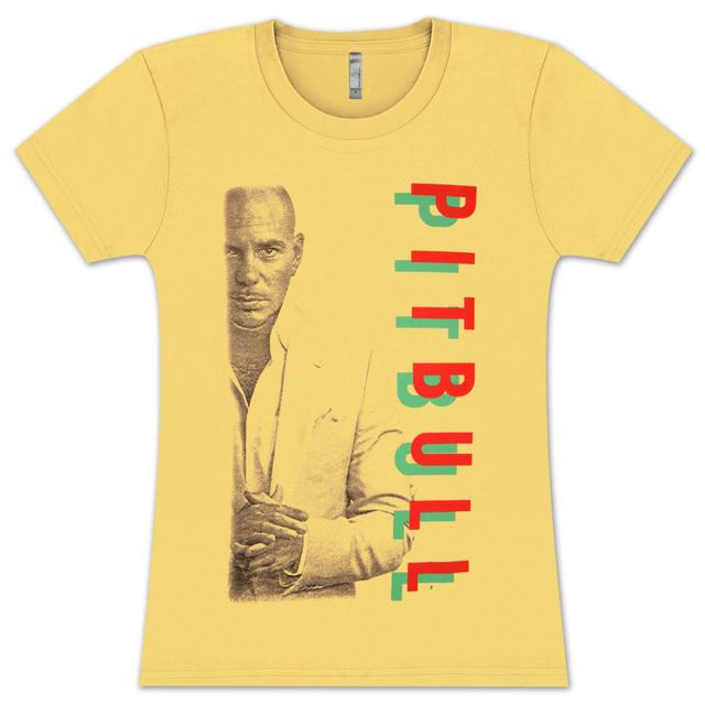 PITBULL Letters Ladies T-Shirt