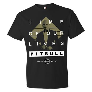 Pitbull Time Of Our Lives Vegas T-Shirt