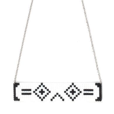 Porter Robinson Necklace   Stacked Perler