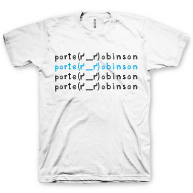 Porter Robinson White T-Shirt | Name Edition