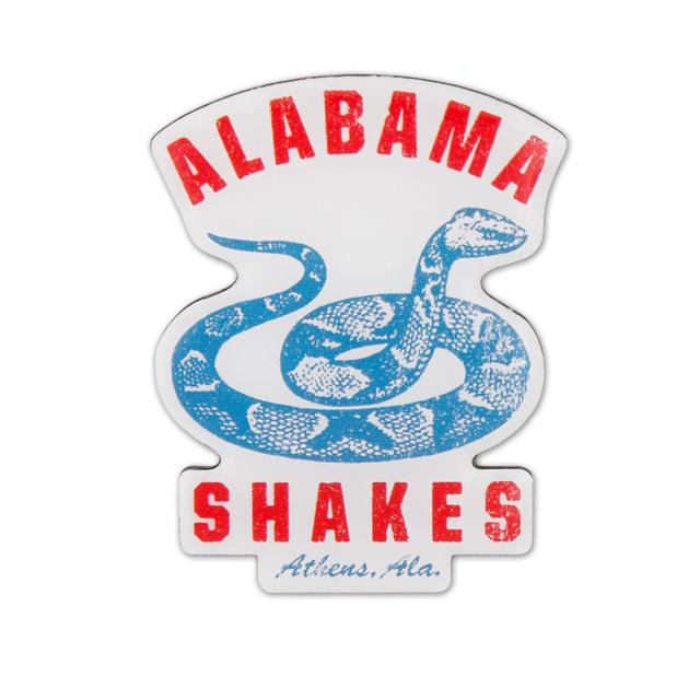 Alabama Shakes Snake Lapel Pin