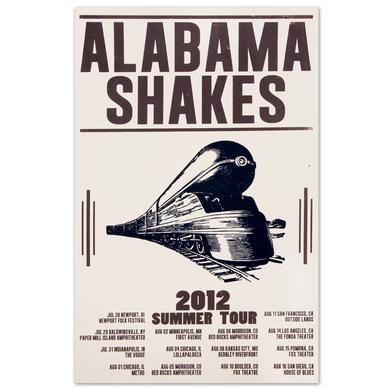 Alabama Shakes Summer 2012 Tour Poster