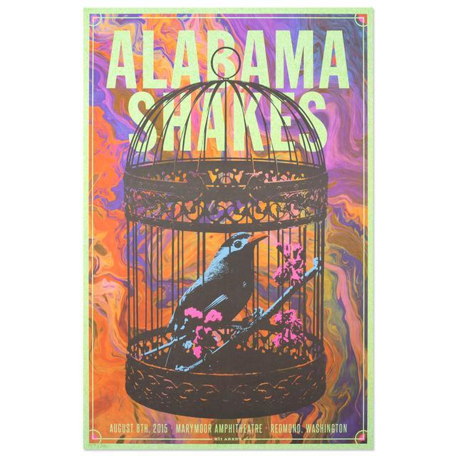 Alabama Shakes 8/8/15 Redmond, WA - Marymoor Amphitheatre