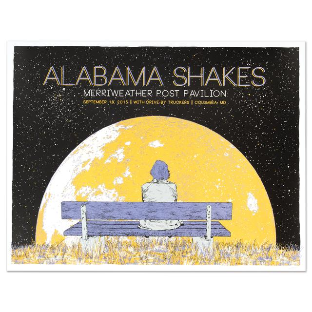 Alabama Shakes Show Poster - Columbia, MD 9/18/2015