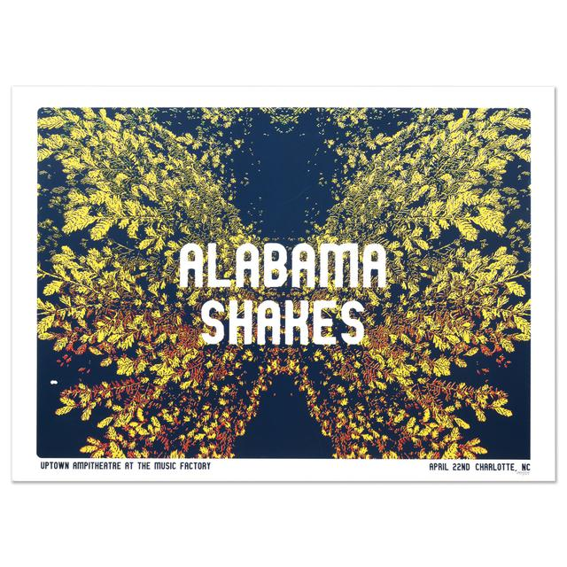 Alabama Shakes Up The Town Amphitheatre at The Music Factory - Charlotte, NC 4/22/16