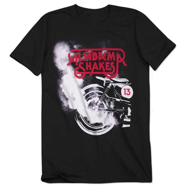 Alabama Shakes Black Exhaust T-Shirt
