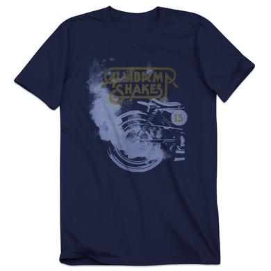 Alabama Shakes North American Summer Tour 2013 Motorcyle T-Shirt with Gray Smoke