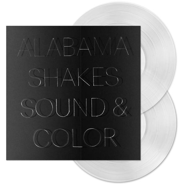 Alabama Shakes Sound and Color Clear Vinyl Double LP